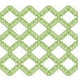 greenery eco rhombus seamless pattern background vector image vector image