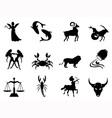 Horoscope symbol vector image vector image