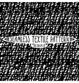 Seamless ink drawn textile pattern vector image