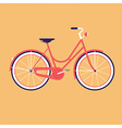 Bike for the city vector image