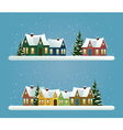 Two Christmas banners vector image vector image