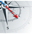 compass southeast vector image vector image