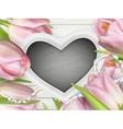 Heart shaped frame EPS 10 vector image