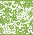 greenery dandelion seamless pattern background vector image