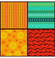set seamless2 vector image vector image