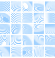 Abstract backdrops set vector image vector image