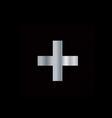Christianity Greek cross vector image