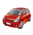red car vector image