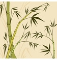 Bamboo Painting vector image vector image