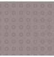 Violet simple vintage floral seamless pattern vector image