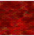 Brick wall seamless vector image