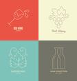 Wine Logos vector image