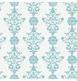 Floral retro wallpaper vector image vector image