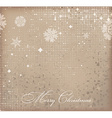 Romantic Christmas Background vector image