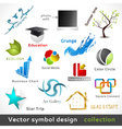 Color Symbol Design vector image vector image