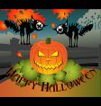 Halloween chorus vector image