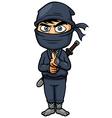 Ninja vector image