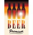 light beer vector image