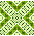 Seamless geometric ethnic tribal pattern vector image