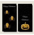 Happy Halloween Collections banner vertical vector image