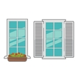 windows collection of various types vector image vector image