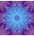 Seamless violet christmas pattern vector image