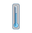 thermometer temperature symbol vector image