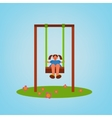 Children Playground 01 A vector image