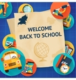 Education template set vector image
