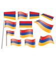 flag of Armenia vector image vector image