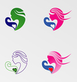 Mother And Baby Care Logo vector image