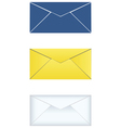mail icons set vector image