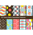 Abstract seamless patterns Geometrical and vector image