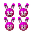 robt rabbit vector image vector image