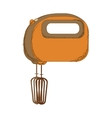 electric mixer or beater icon image vector image