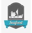 sea food design vector image vector image