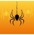 decorative spiders vector image