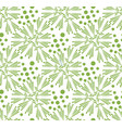 greenery dandelion seamless pattern wallpaper vector image