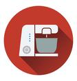 Kitchen food processor icon vector image vector image