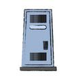 single locker icon image vector image