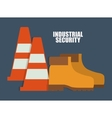 Cone boots icon Industrial graphic vector image