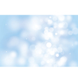 blue bokeh background for christmas and greeting vector image vector image