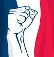 France fist vector image