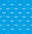 flags pattern seamless blue vector image