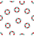 pattern lifebuoy vector image