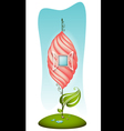 Fantasy cartoon house vector image vector image