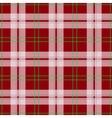 abstract red tartan christmas seamless vector image