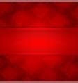 red square abstract background vector image vector image