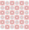 seamless pattern with dots design vector image
