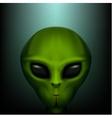 The alien portrait vector image